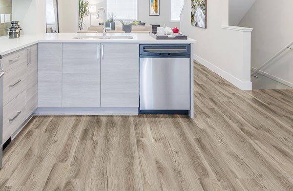 Kitchen Vinyl Flooring Fitting