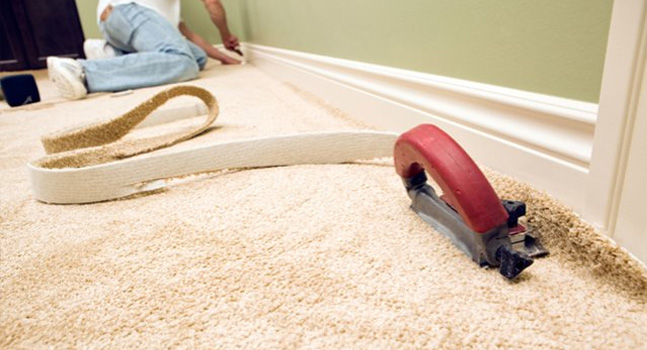 Trim The Edges Of Carpet