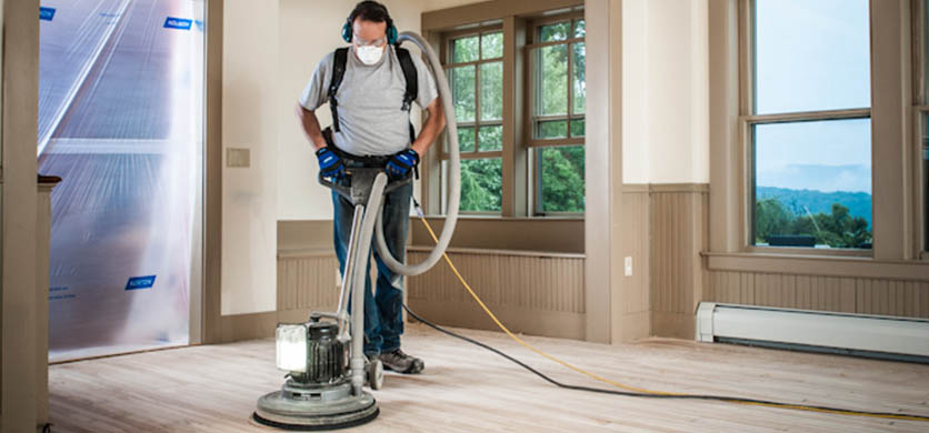 Steps to Sanding a Floor