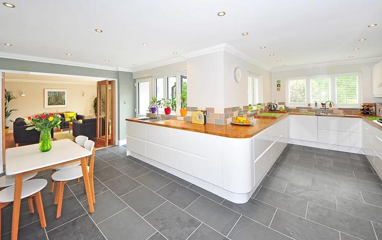 Easy Tiles for Your Kitchen